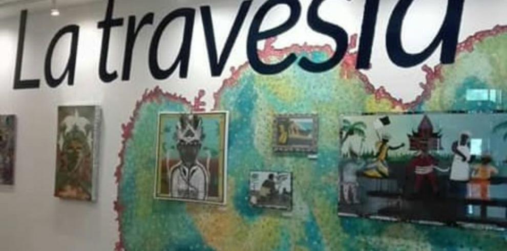 Exhibición colectiva alusiva a la cultura congo de Colón