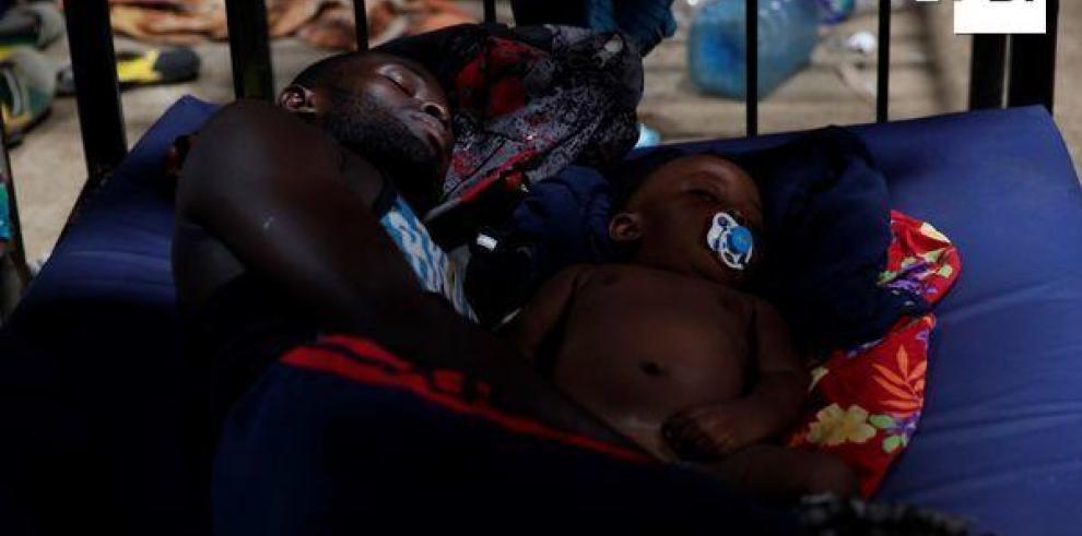 Aldea acoge migrantes desesperados por llegar al norte