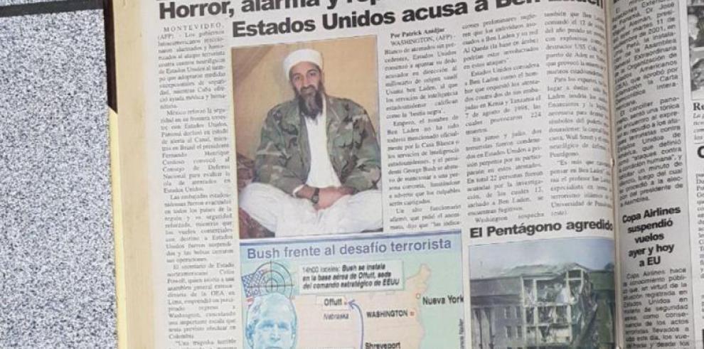 Así registró La Estrella de Panamá, los hechos del 11 de septiembre de 2001