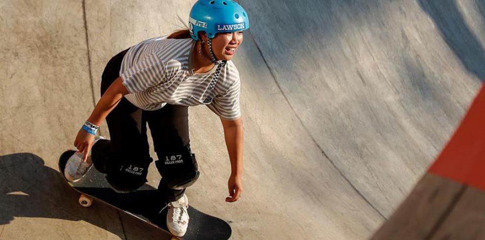 La japonesa Kisa Nakamura destaca el impulso del skate femenino en los últimos años