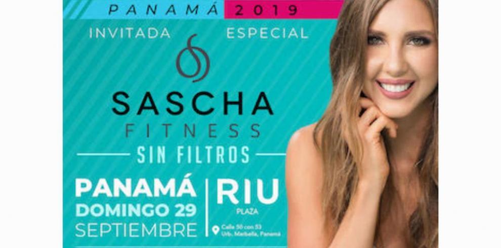 Conferencia 'Sascha Fitness: sin Filtro'