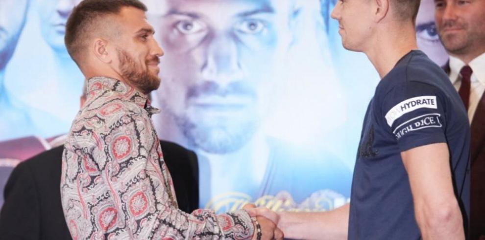 Lomachenko tendrá una dura pelea hoy en Londres ante Campbell