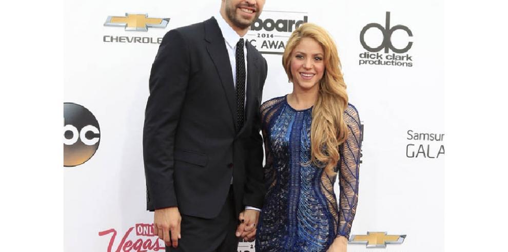 Shakira y Piqué: muy acaramelados durante el último partido de Rafa Nadal