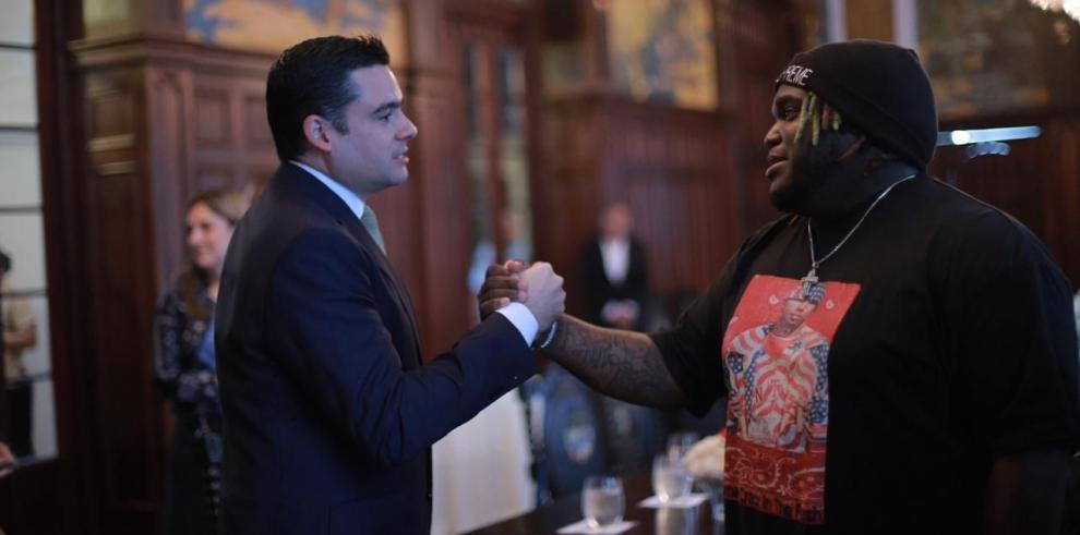 Presidente Cortizo recibe al Sech en el Palacio de Las Garzas