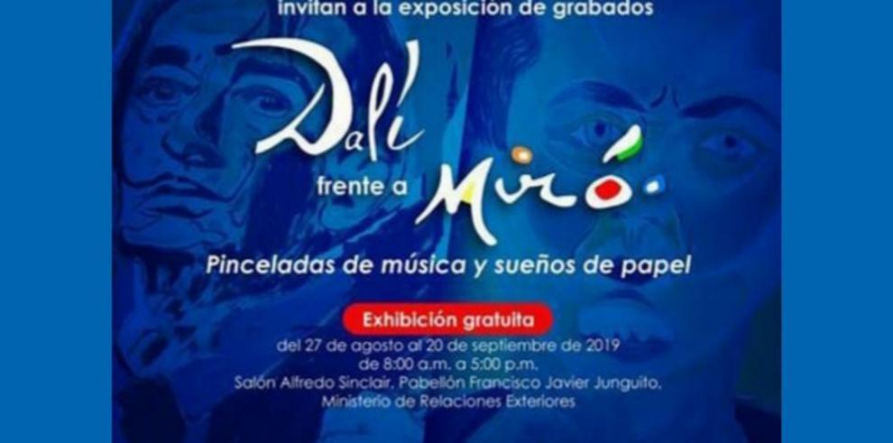 'Dalí frente a Miró'