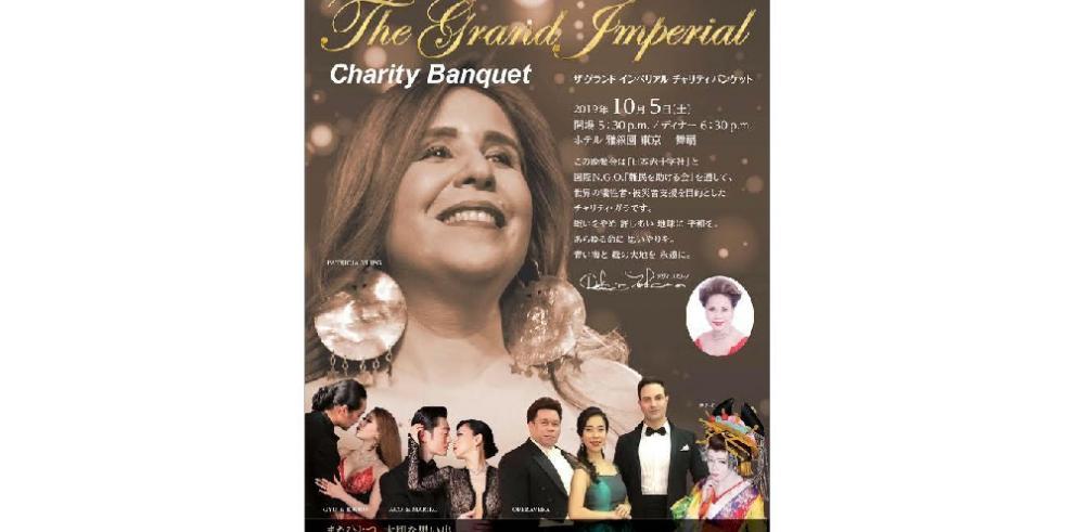 Patricia Vlieg cantará en el Gran Imperial Charity Baquet