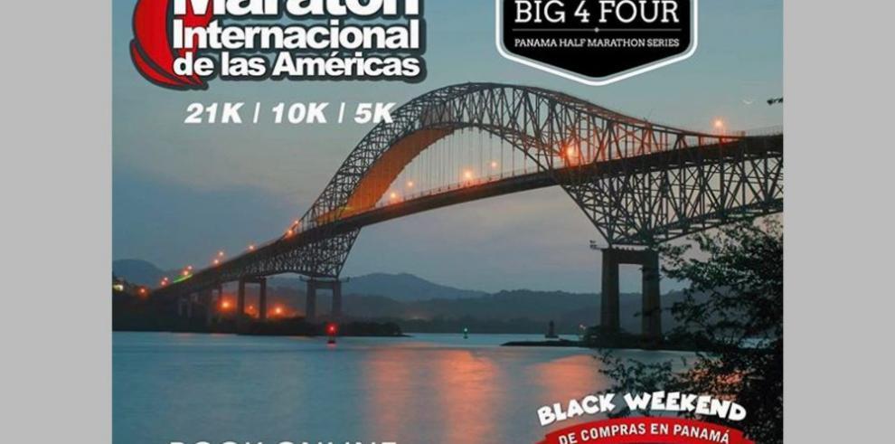 Maratón Internacional de las Américas se realiza en Panamá