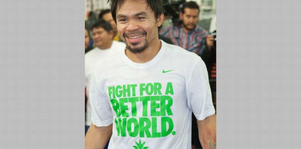 Manny Pacquiao busca otro título: el de abogado