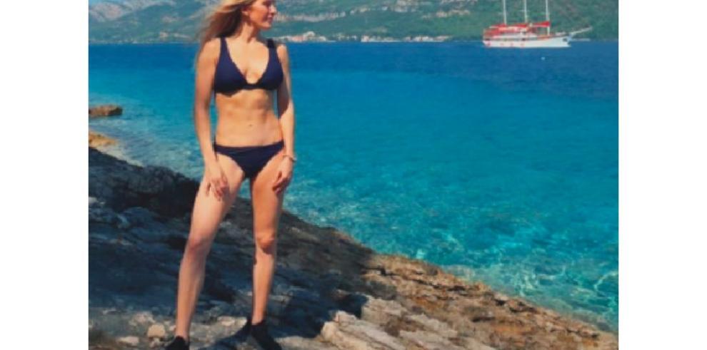 Ellie Goulding presume de cuerpazo durante su luna de miel
