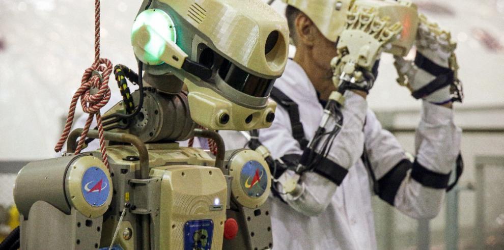 Rusia lanzará mañana su primer androide a la Estación Espacial Internacional