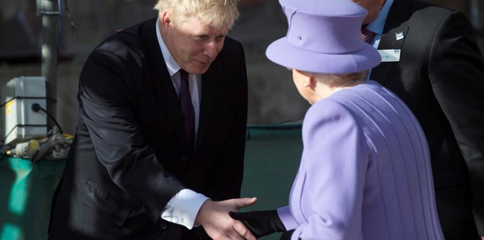Boris Johnson niega haber