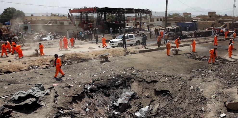 Un atentado en Kabul causa al menos 16 muertos y más de 100 heridos