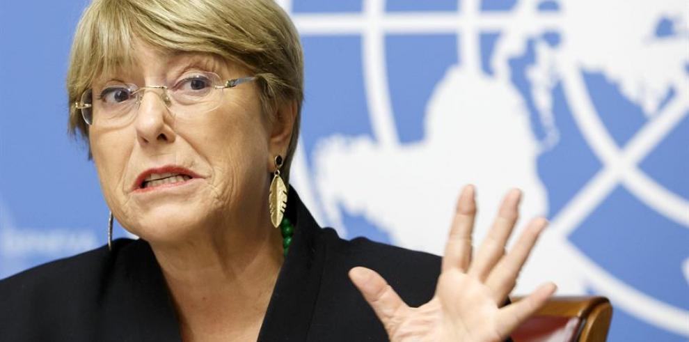 Venezuela rechaza informe Bachelet y dice que se debería investigar a EEUU
