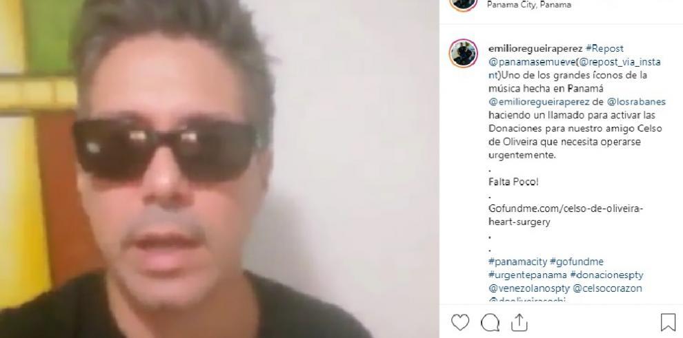 Vocalista de Los Rabanes pide solidaridad con productor musical