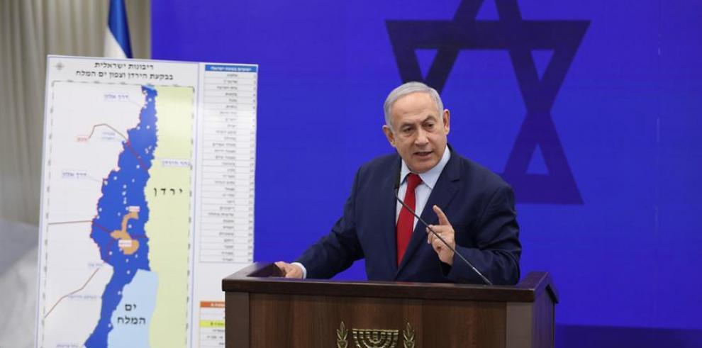 Netanyahu promete anexionar territorio palestino en Cisjordania si es reelegido