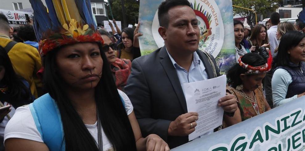 Indígenas de la Amazonía colombiana viven crisis humanitaria sin precedentes