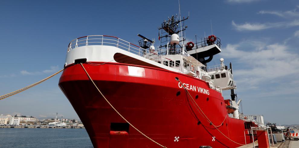 Los 82 migrantes del Ocean Viking podrán desembarcar en Lampedusa