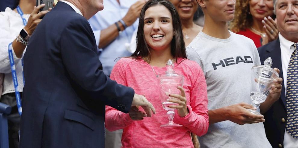 La colombiana Osorio, nueva reina juvenil del Abierto de EEUU