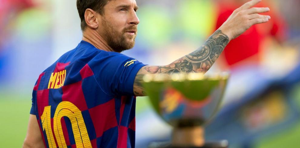 Messi, descartado prácticamente para el partido contra Osasuna