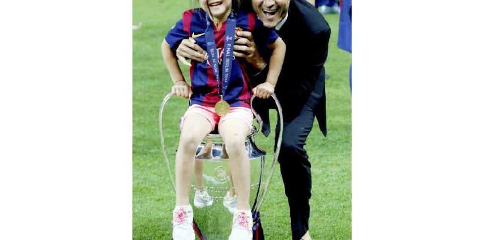 Luis Enrique anuncia el fallecimiento de su hija Xana