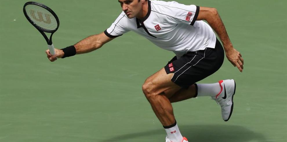 Federer arrolla a un apagado Goffin y pasa a cuartos de final