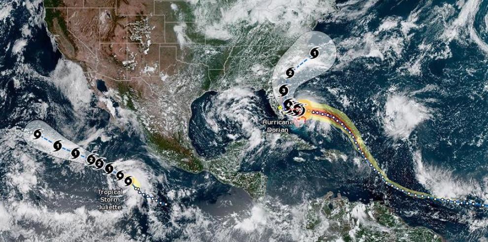 El huracán Dorian devasta las Islas Ábaco, en el noroeste de Bahamas