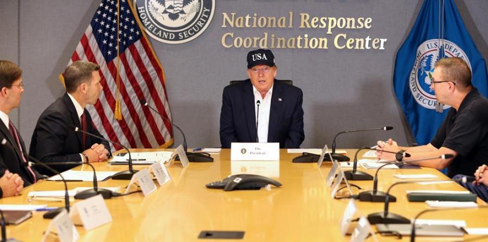 'No sabemos lo que se nos viene', dice Trump sobre el huracán Dorian