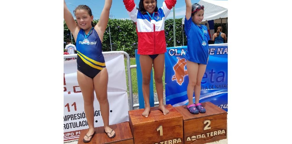 Panamá ganala más altapuntuación en torneo de natación en Costa Rica