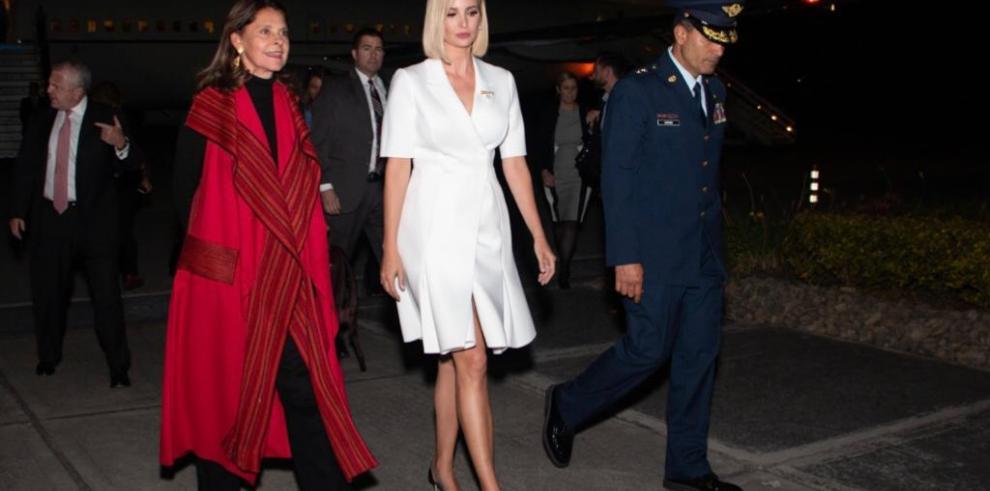 Ivanka Trump apoya en Colombia empoderamiento económico femenino para la paz