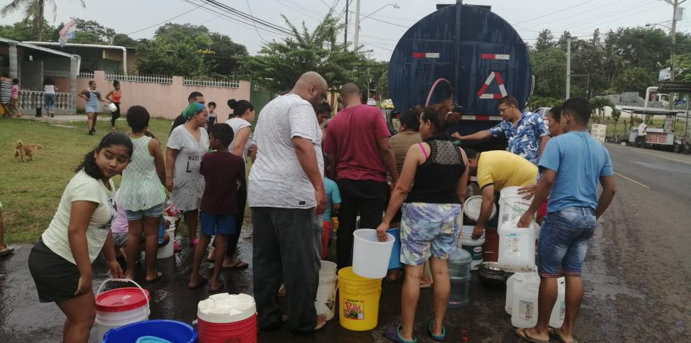 Suministro de agua en Arraiján se reanudará a media noche