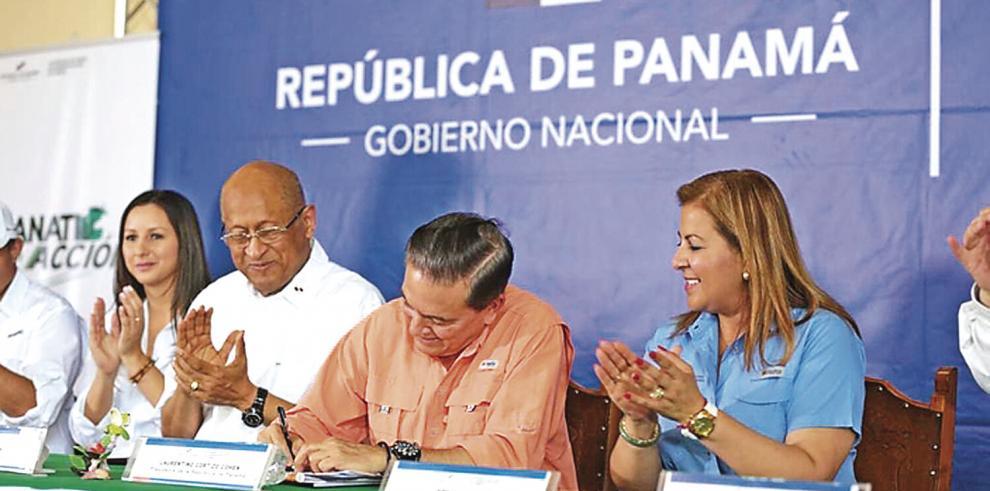 El presidente Cortizo sancionó el viernes pasado la ley que amplía los intereses preferenciales.