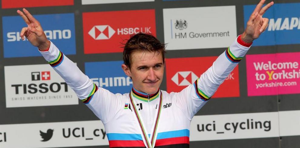 El ciclista danés Mikkel Bjerg