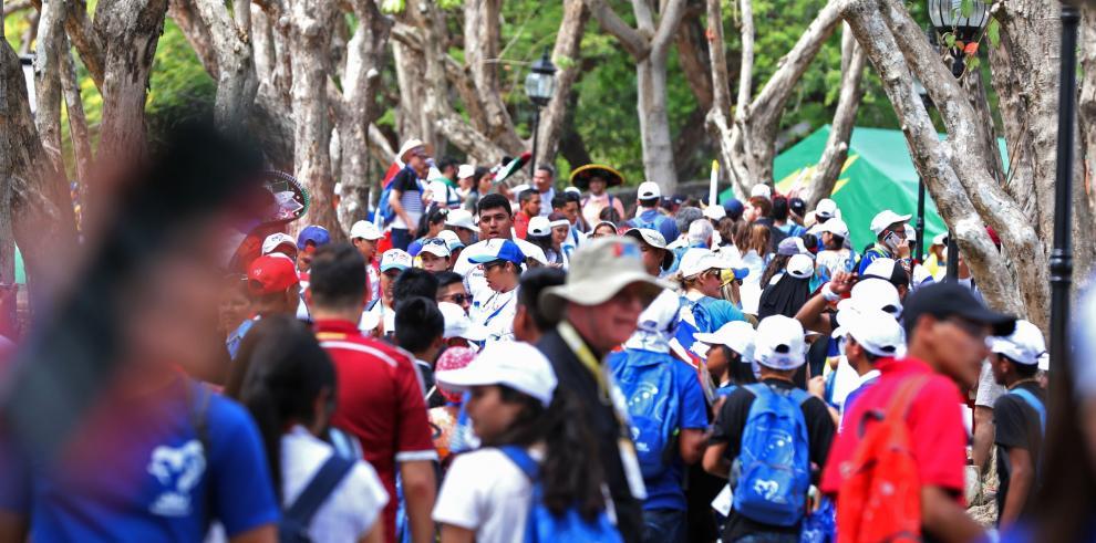 Unos 1.350 hondureños asisten a Jornada Mundial de la Juventud en Panamá