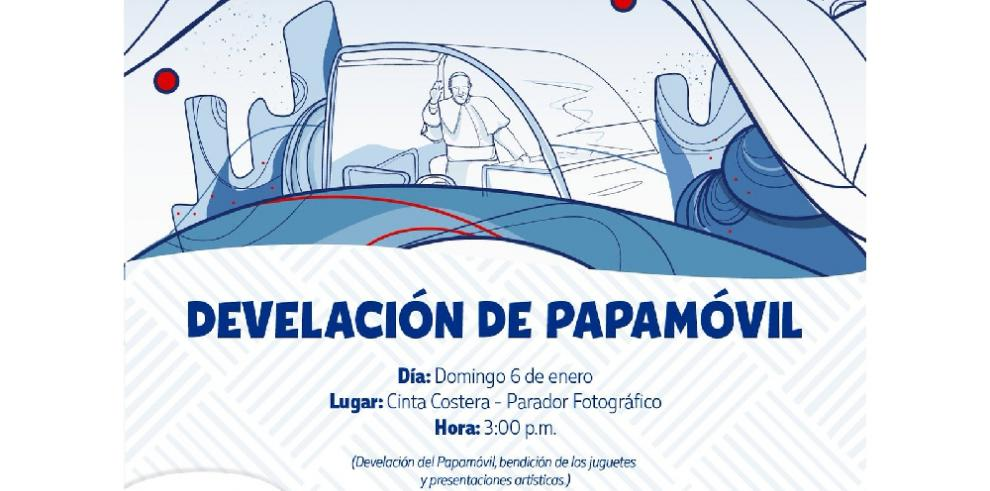Papamóvil creado en Panamá será develado en la Cinta Costera