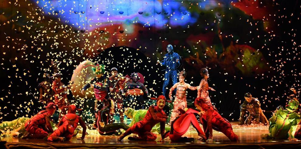 Cirque Du Soleil llegará a Panamá con 'Ovo', un show basado en una historia de amor
