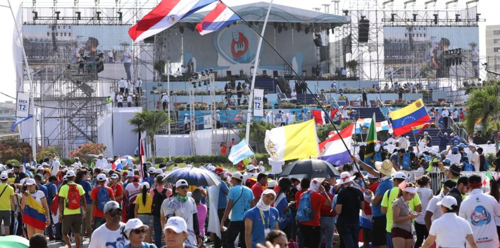 El segundo día del papa en Panamá