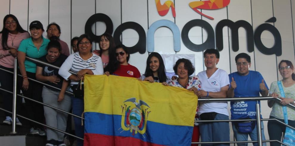 Paso Canoas sigue recibiendo a peregrinos para la JMJ