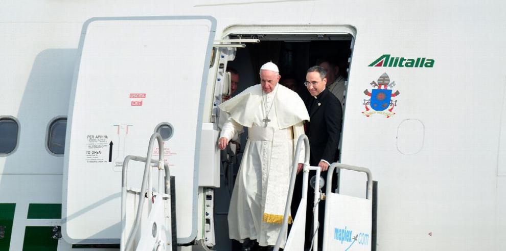 Francisco causa euforia en Panamá