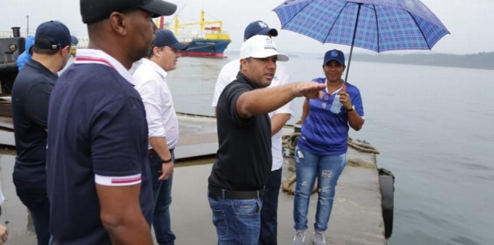 AMP promete recuperar los puertos en Bocas