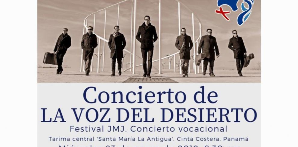 Los curas rockeros 'La Voz del Desierto' darán conciertos en la JMJ