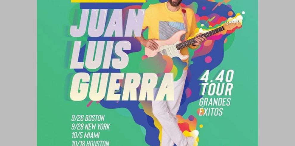 Juan Luis Guerra llega a Panamá