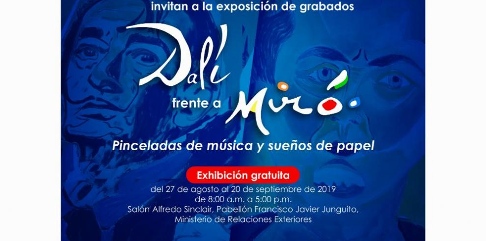 Pinceladas de historia con Dalí y Miró