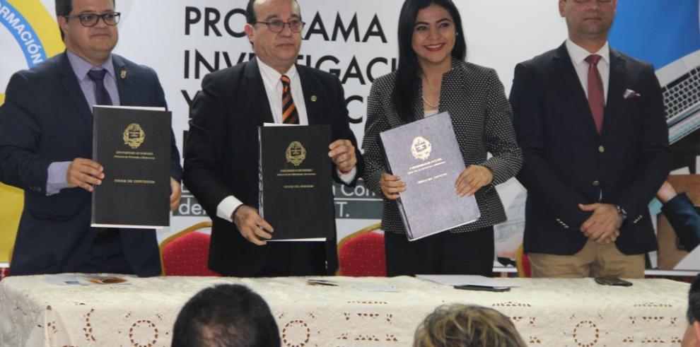 Mitradel y UP firman convenio quecrea programa de investigación y formación laboral