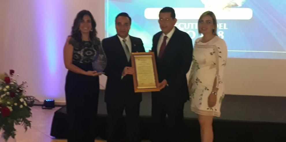 Apede Chiriquí condecora a Franklin Jurado como 'Ejecutivo del Año 2018'