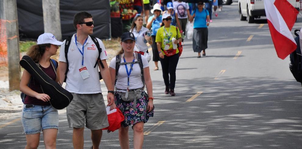 Unos 87 mil 391 peregrinos han retirado sus acreditaciones para la JMJ
