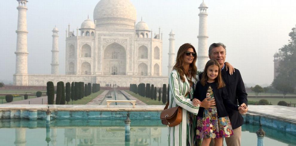 Macri se acerca al mercado indio