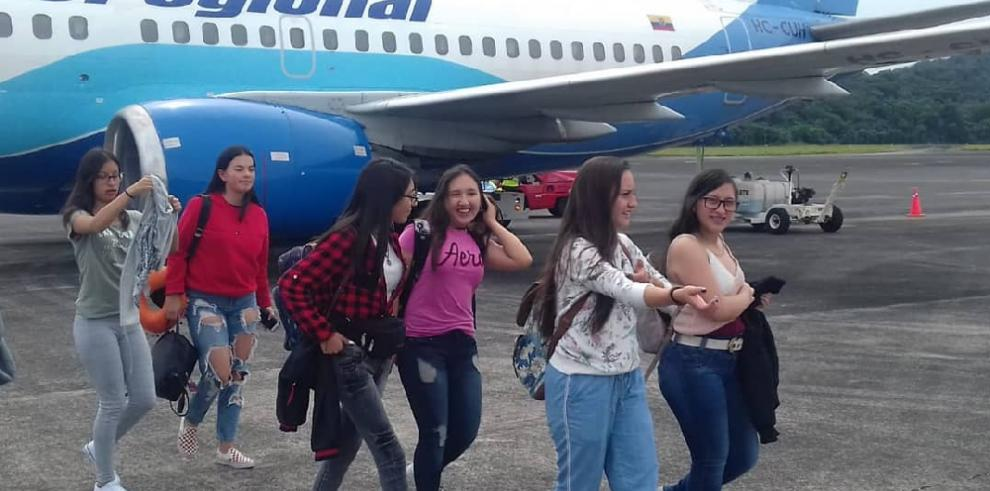 Aerolínea ecuatoriana Aeroregional reinicia vuelos chárter a Panamá