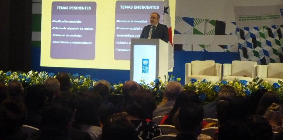 Panamárequiere fortalecer nuevas capacidades para atender los nuevos desafíos