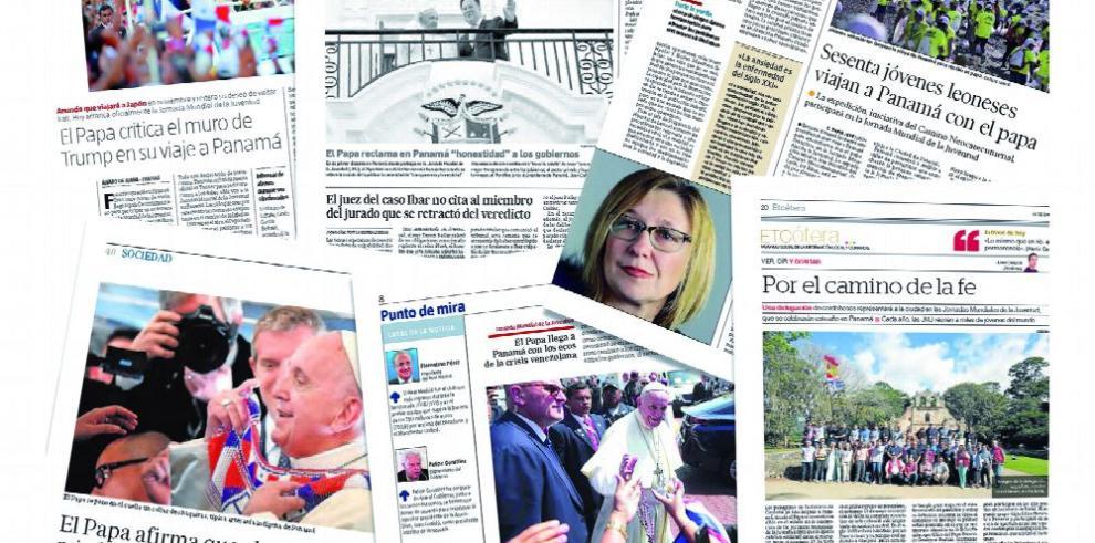 JMJ brilló en los medios europeos