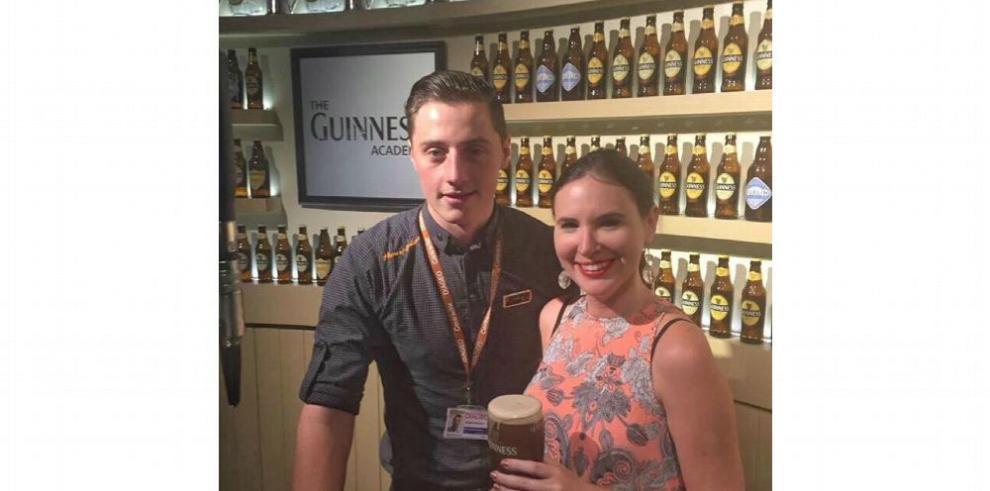 En Irlanda la cerveza Guinness sabe mejor